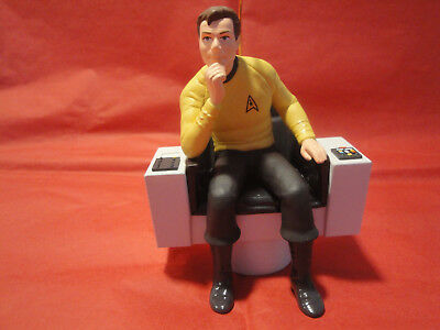 Hallmark Keepsake Ornament STAR TREK CAPTAIN JAMES TIBERIUS KIRK !!!