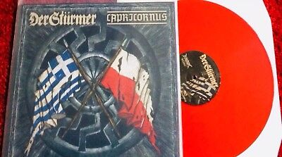 Der Stürmer Capricornus ‎– Polish - Hellenic Alliance Against Vinyl in Red