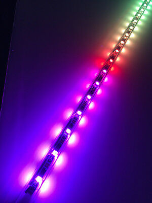 4 ft. Aurora II LED Whips, Pair, by Tribal Whips