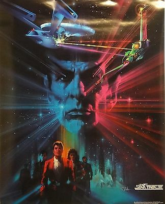Star Trek III 23x29 The Search For Spock Movie Art Poster 1984