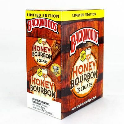 1 PACK of Backwoods cigars ( Honey Bourbon ) *** LIMITED EDITION ***