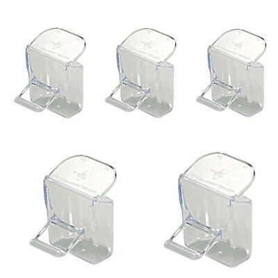 5 x Replacement Seed Hopper with Lid For Cage Fronts Finch, Canary, Small Birds
