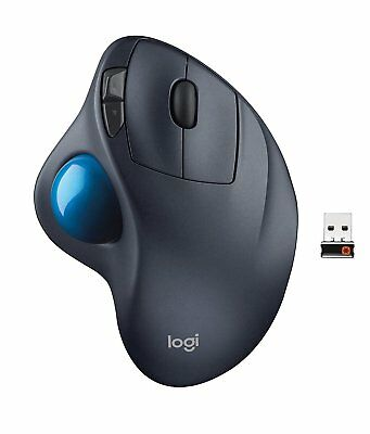 Logitech M570 Wireless Trackball Laser Mouse with USB Unifying Receiver