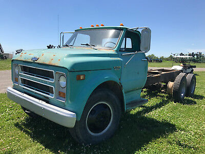 1971 Chevrolet C50 Cab And Chassis