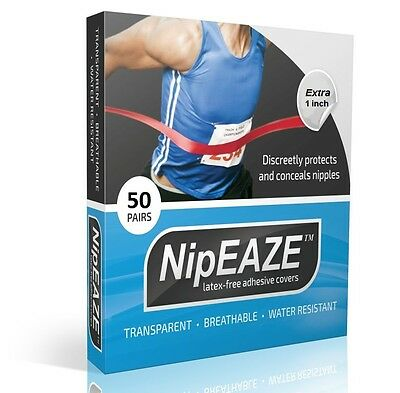 100pcs NipEAZE Mens Nipple Cover Band Sticker Patch Invisible Stickers Men