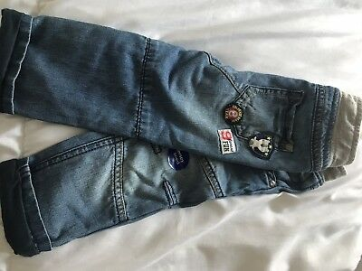 BNWOT Baby Boys Mothercare Jeans Age 9-12 Months
