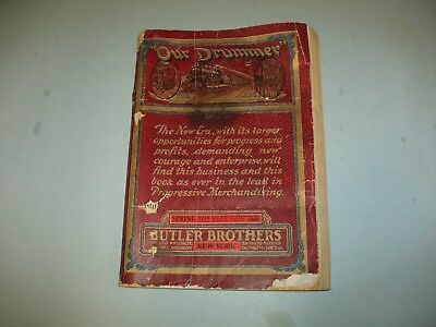 Original 1919 Butler Brothers New York Department Store Catalog ~ WOW FACTOR~