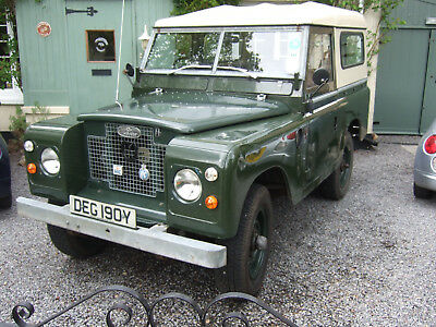 Land Rover Series 3 1983 SWB Petrol Hard Top. Astor family owned.