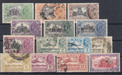 (6102) Great Britain India Used Selection