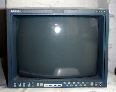 "BARCO - ADVM 14 - 14"" Broadcast Monitor"