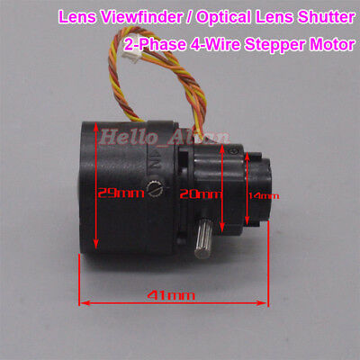 2-Phase 4-Wire Stepper Motor Camera Lens Viewfinder Optical Len Assembly Shutter
