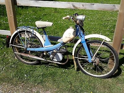 Nsu Quickly Moped Mobylette Tax & Mot Excempt