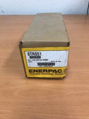 New Enerpac STRS51 S/A Swing Cylinder Threaded (1100 LBS)
