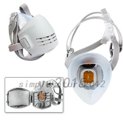 Reusable Anti-Dust Paint Respirator Chemical Welding Safety Industrial Mask