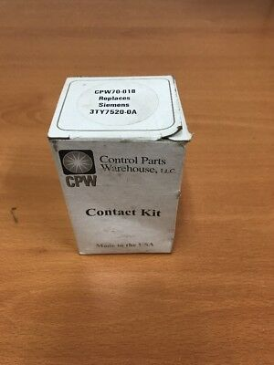 New Control Parts Warehouse CPW70-018 Contact Kit
