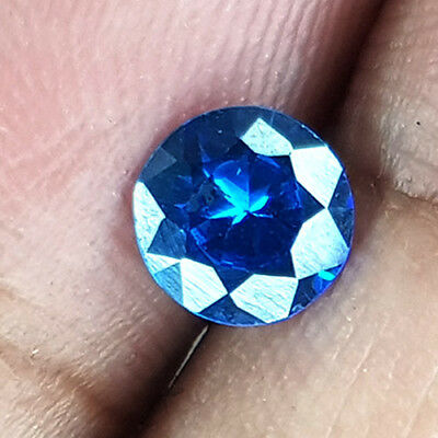 1.44 Cts D Block Top Eye Clean Most Wanted Blue Cominant Natural Tanzanite