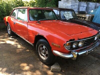 Triumph Stag for Spares or Repair