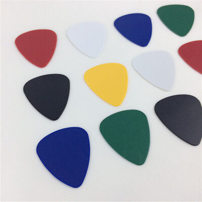 10Pcs Acoustic Electric Bass Ukulele Guitar Picks 0.46mm Thickness