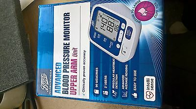 Advanced upper arm boots blood pressure monitor 22-42cm cuff NB