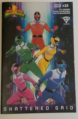 *ON SALE* Mighty Morphin Power Rangers #25 Fried Pie Variant Shattered Grid NM
