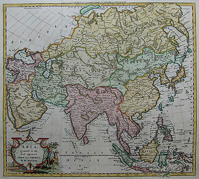 Asien - Kitchen / Baldwyn 1794 - Asia agreeable to the most approved Maps ...