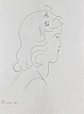 Henri Matisse Lithograph Drawing / Dessins O14 Limited First Edition 1943 Rare