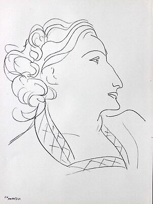 Henri Matisse Lithograph Drawing / Dessins O16 Limited First Edition 1943 Rare