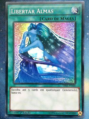 Yugioh Soul Release Portuguese THSF-PT048 1st Super Rare Near Mint Fast Shipping
