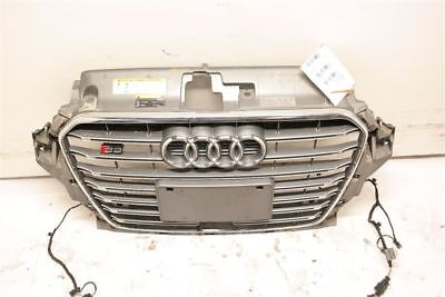Chrome/Gray Center Grille Fits 2015 Audi S3 8V