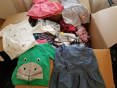 NEW Wholesale Mixed Lot 100 Assorted Girl Boy Children Clothing Infant Toddler