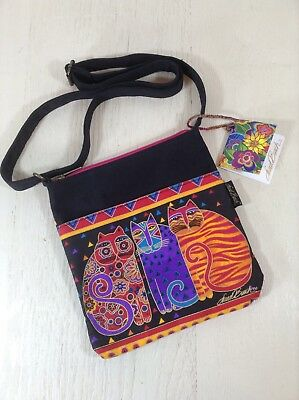 Laurel Burch Cat Crossbody Purse Handbag
