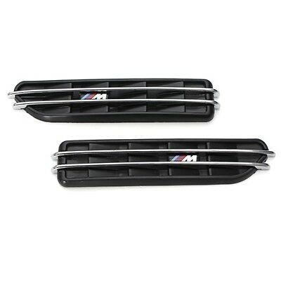Air Flow Side Fender Vents Mesh Sticker Grille For BMW E60 M5 E61 E39 E90 M M7G6
