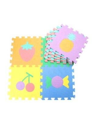 9Pcs Soft EVA Foam Numbers Puzzle Mat Pad Floor Baby Kids Toddler Game Play Toy