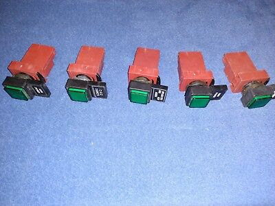 Ge Cema P9Ptnvj Power Supply Transformer W/ Pilot Light Green  ( Lot Of 5 )