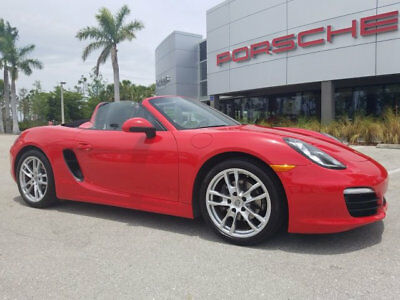 Porsche Boxster 2dr Roadster 2016 Porsche Boxster - Guards Red/Black, 11k Miles, Certified, Clean Carfax