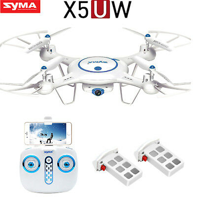 Syma X5UW X5UC 2.4Ghz 6-Axis RC Quadcopter Drone with 720P HD Camera UFO