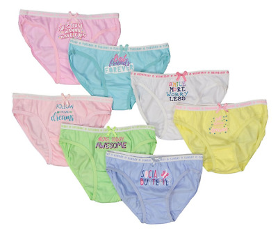 Pastel Day of the Week Underwear Set - Girls René Rofé Girl 14 NWT