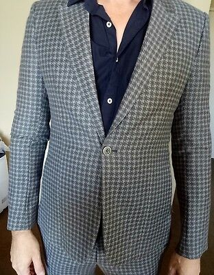 Emporio Armani Wool Suit 52 New with Tags