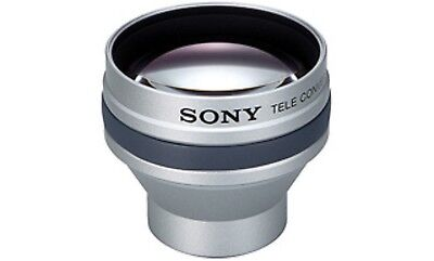 NEW & GENUINE SONY TELE-CONVERSION LENS VCL-HG2025 for DCR-DVD Camcorders