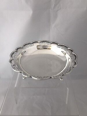 Sterling Silver Bon Bon Dish 1976 Sheffield