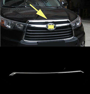 Front Grille Engine Cover Trim Molding for 2014-2018 Toyota Highlander new