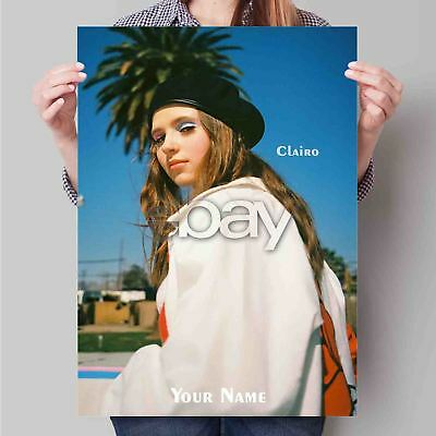 Clairo Custom New Art Poster Print Wall Decor Personalized