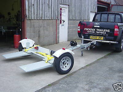 "Car Towing Dolly Recovery Vehicle 96"" wide"