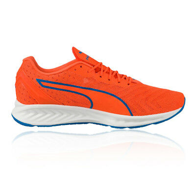 brand new 7dde3 f8cbd Puma IGNITE 3 Mens Orange Cushioned Running Road Sports Shoes Trainers