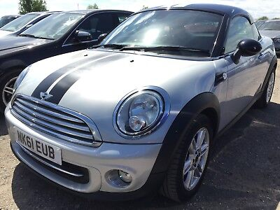 61 Mini Coupe 1.6 Cooper **cat C** Low Miles Only 20K, Leather, Alloys Etc!!