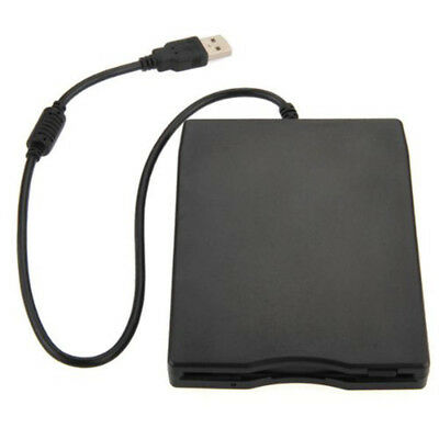"USB floppy disk drive 1.1 / 2.0 External 3.5 ""1.44 MB portable for laptop O7F1"
