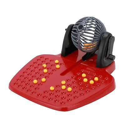 Bingo Lotto Traditional Family Game Play Set 90 Balls