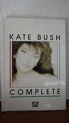 "Kate Bush - ""Complete"" Partitions Lyrics Biographie - EMI MUSIC - 1987"