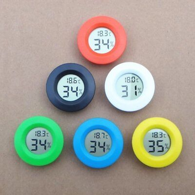 New Digital Thermometer Humidity Meter Room Cars Temperature Indoor Hygrometer