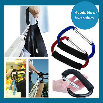 Hanging Buckle Universal Large Buggy Clip Pram Pushchair Bag Hook Carabiner